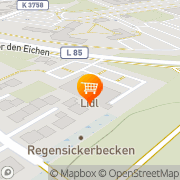 Karte Lidl Rheinmünster, Deutschland