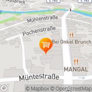 Karte Hotel-Restaurant Manfred Vogt Rietberg, Deutschland