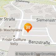 Karte Lidl Karlsbad, Deutschland