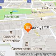 Karte Café-Restaurant Tannenberg Winterthur, Schweiz