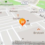 Karte Lidl Bad Salzuflen, Deutschland