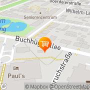 Karte Tengelmann Supermarkt Offenbach, Deutschland