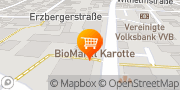 Map REWE Getränke Obertshausen, Germany
