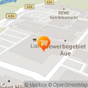 Karte Lidl Höchst, Deutschland