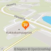 Kort KokkeKompagniet ApS Kolding, Danmark