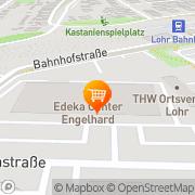 Karte Tchibo im Edeka Aktiv Markt Lohr, Deutschland