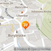 Karte ADEG Aktiv Markt Hohenems, Österreich