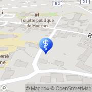 Carte de Ambulances Chaperon Mugron, France