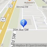 Map Kaci Drapes Minot, United States