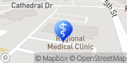 Map Thomas Fulbright, MD Rapid City, United States