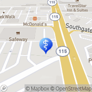 Map Broadmoor Dental Colorado Springs, United States