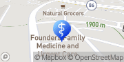 Map Founders Family Medicine and Urgent Care Castle Rock, United States