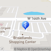 Map 100% Chiropractic - Broomfield Broomfield, United States
