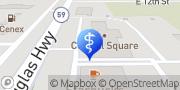 Map Powder River Dental Gillette, United States