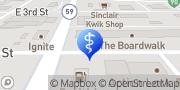 Map Powder River Dental Associates Gillette, United States