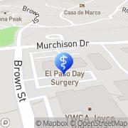Map El Paso Varicose Veins Laser Clinic El Paso, United States