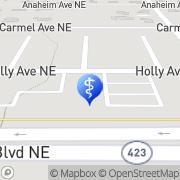 Map AlluraDerm MD Med Spa Albuquerque, United States