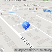 Map Eye Physicians Optical Department Billings, United States