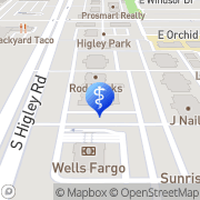 Map Fetal Diagnostic Center Gilbert, United States