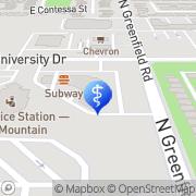 Map Gentle Dental University Drive - Closed Mesa, United States