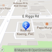 Map Walgreens Healthcare Clinic - Closed Chandler, United States