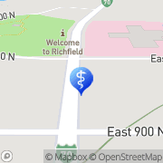 Map Audiology Associates of Holladay Richfield, United States