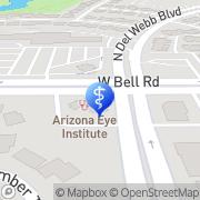 Map Arizona Eye Institute Sun City, United States