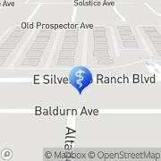 Map Silverado Family Dental Las Vegas, United States