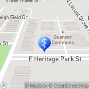 Map Active Family Chiropractic Meridian, United States