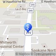 Map Craig Debra DDS PS DDS Spokane, United States