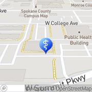 Map Spokane Psychology & Neuropsychology Spokane, United States