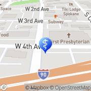 Map Forsyth Andrew B Ph.D. Spokane, United States