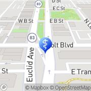 Map Millcroft Dental Care Ontario, United States