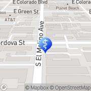 Map Tripodes Nick J DDS Pasadena, United States