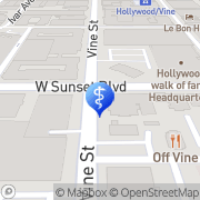 Map Sunset Health Center Los Angeles, United States