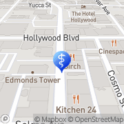 Map Eidelman, William S, Md - Spiritual Center For Healing Los Angeles, United States