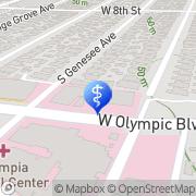 Map Abraham Ishaaya MD Los Angeles, United States