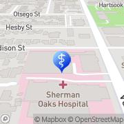 Map Sherman Oaks Dentistry Sherman Oaks, United States