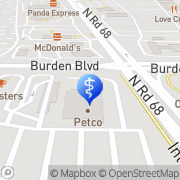Map David Roberts Pasco, United States