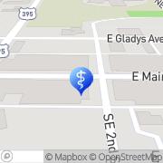 Map Fourth Street Family Dental - Greg B Jones DMD Hermiston, United States