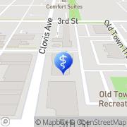 Map Wendy Quiroz, D.D.S. Clovis, United States