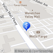 Map Virgil Wilcox East Wenatchee, United States