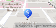 Map Providence Hood River Memorial Hospital Diabetes Education Clinic Hood River, United States