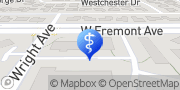 Map Theresa Frank, DDS Sunnyvale, United States