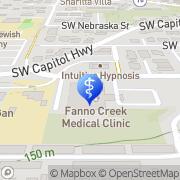 Map Fanno Creek Clinic Portland, United States