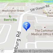 Map Bernard H Bueffel MD Portland, United States