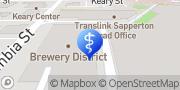Map West Coast Podiatry New Westminster, Canada