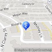 Map Evergreen Senior Living Eugene, United States