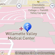 Map Willamette Valley Neurology McMinnville, United States