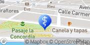 Map Clínica Dental Sunil Daswani Santa Cruz de Tenerife, Spain